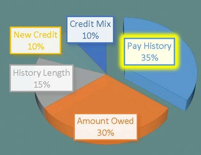 Payment History - 35%